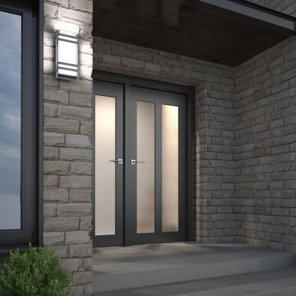 Glowbox 3 Applique D'extérieur à DEL Integrée Acier inoxy