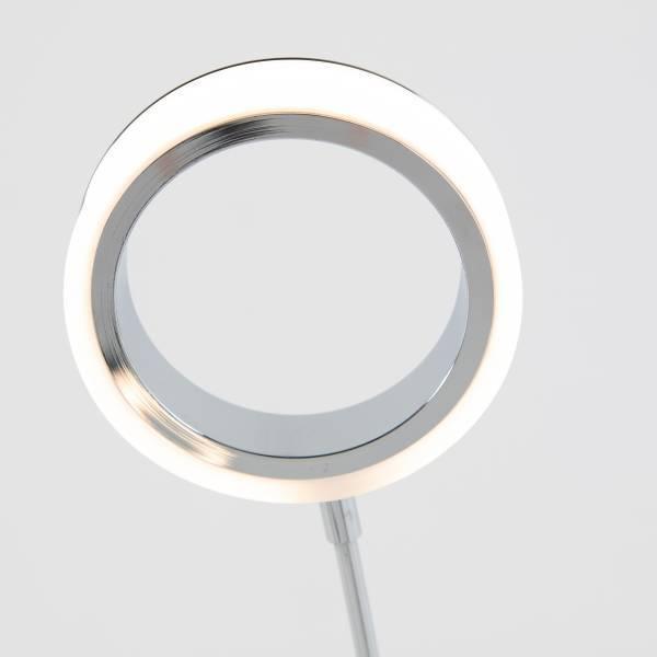 Optical Floor Lamp Chrome