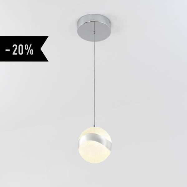 Wavey 1-Light Integrated LED Pendant
