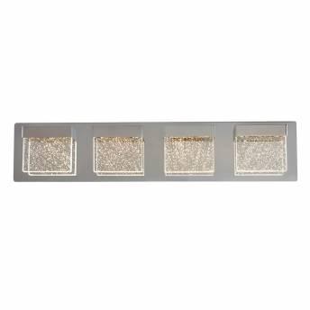 Bubble Cube 4-light Integrated LED Vanity Light