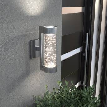 Bubble Flow Integrated LED Outdoor Light