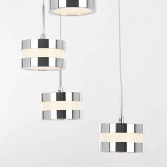La Crème 9-light integrated LED Pendant