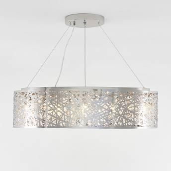Crystal Ellipse 9-light Pendant