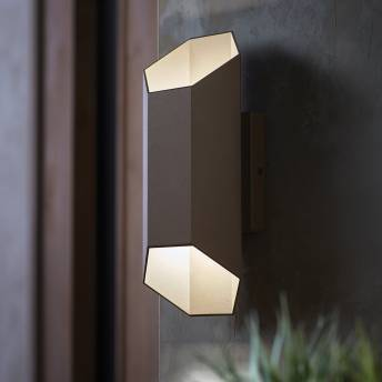 Hexa Integrated LED Outdoor Light