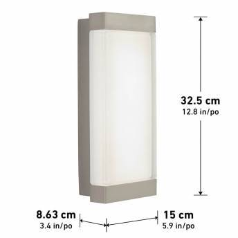 Profile Wall Light - Outdoor/Indoor Stainless Steel