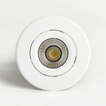 Radius Round Recessed Light White