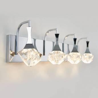 Spontaneous 4-light LED Vanity Light