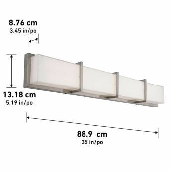 Subway Integrated LED Vanity Light