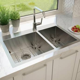 Tryton Double Bowl Stainless Steel Sink