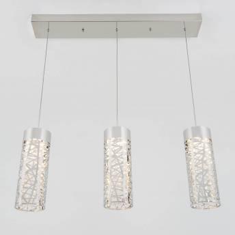 Crystal Nest 3-light Pendant