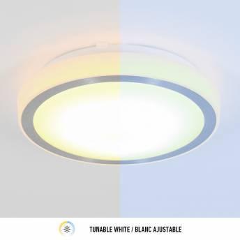 Pluto Artika Smart Wi-Fi LED Ceiling Light