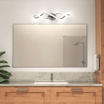 Swirl Integrated LED Vanity Light