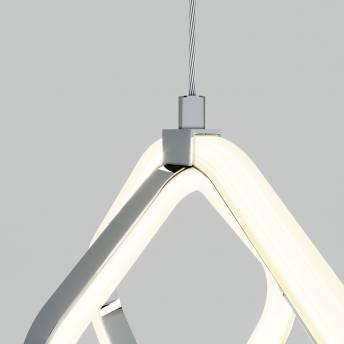 Axel Integrated LED Pendant Chrome