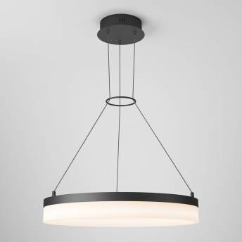 Optical LED Pendant Light Matte Black