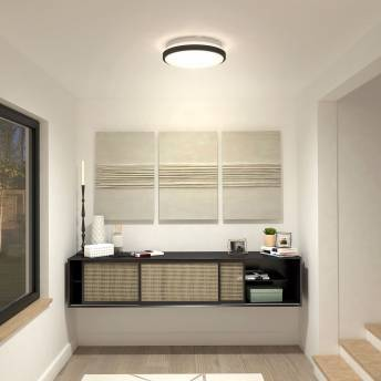 Orion Integrated LED Ceiling Light Matte Black