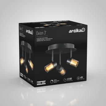 Oxion 3-light Integrated LED Track Light