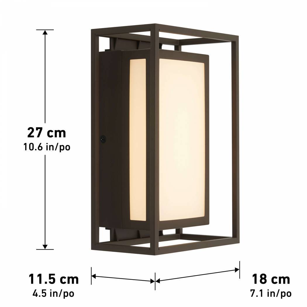 Ghost Integrated LED Outdoor Wall Light