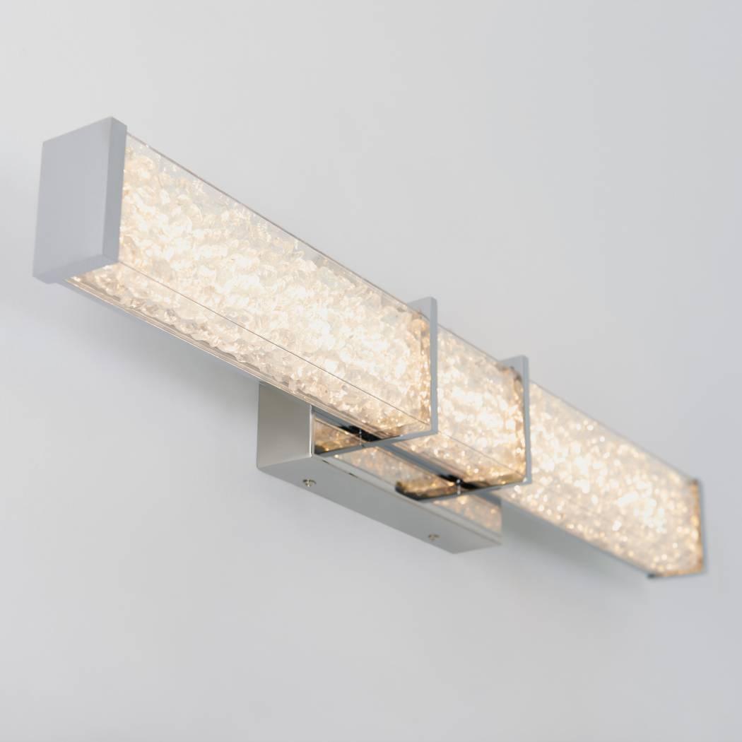 Royale Chrome Integrated LED Vanity Light
