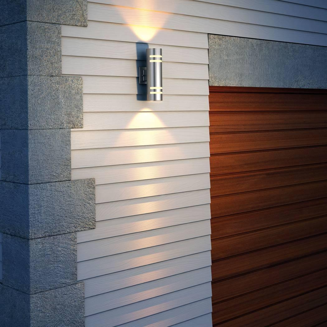 Voltz Outdoor Wall Light Stainless Steel