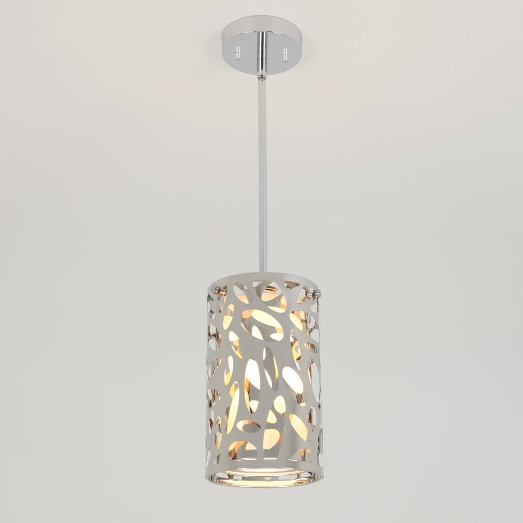 Expression Mini 1-Light Pendant in Chrome