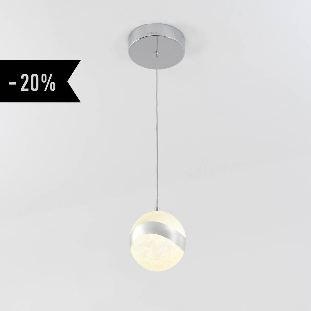 Wavey 1-Light Integrated LED Pendant