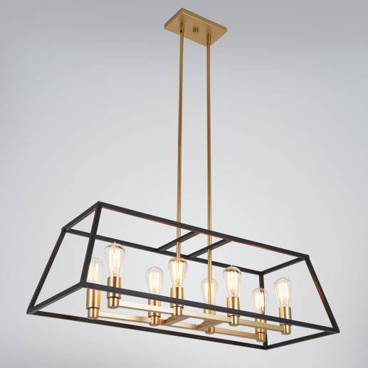 Carter Long 8-light Chandelier