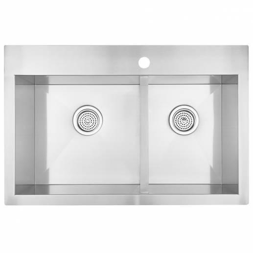 Acero Double Bowl Sink
