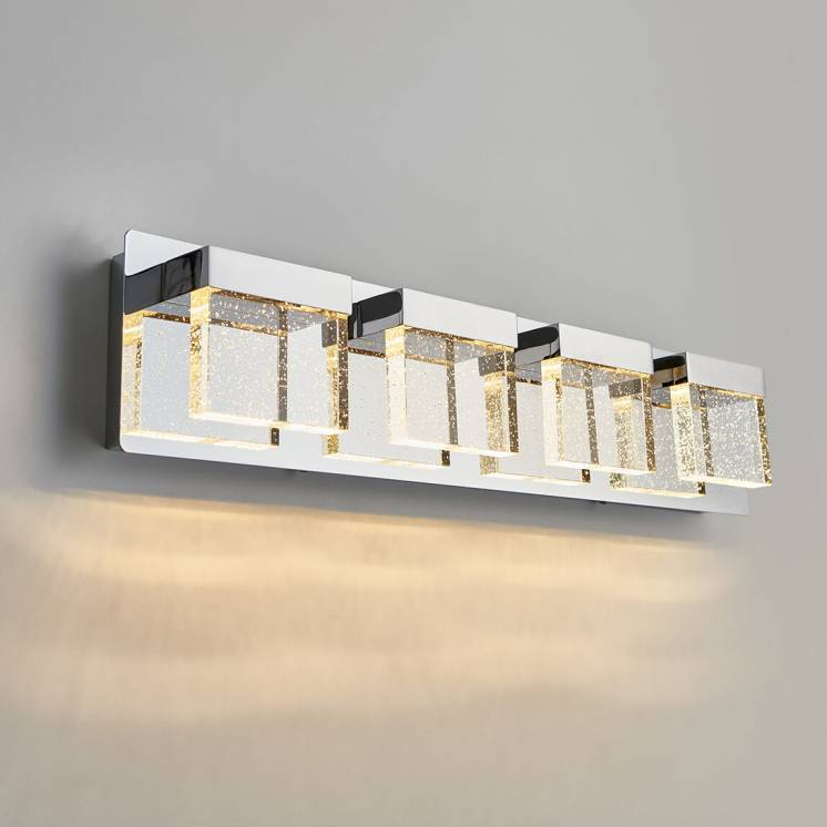 Bubble Cube 4-light Integrated LED Vanity Light