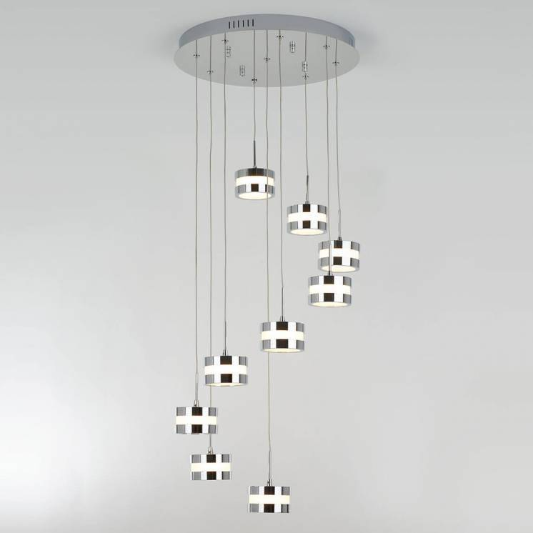 La Creme 9-light integrated LED Pendant