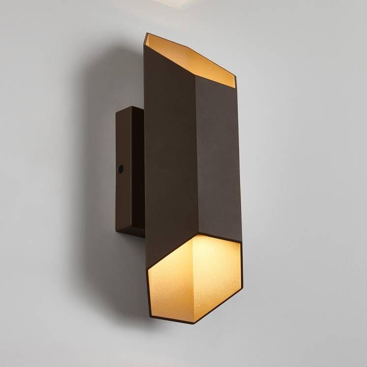 Hexa Integrated LED Outdoor Wall Light