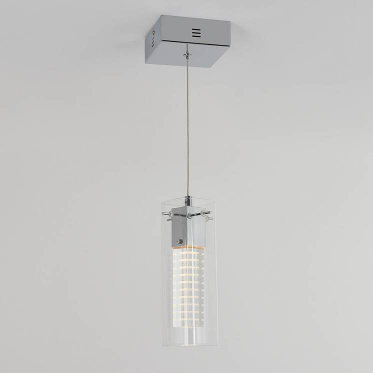 Hologram 1-light Integrated LED Pendant