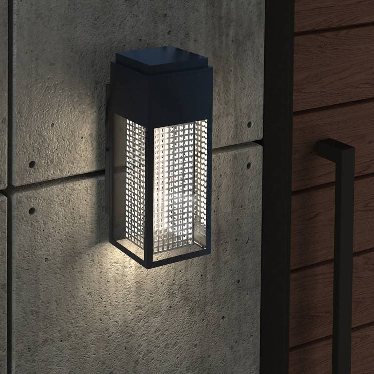 Meteor Integrated LED Outdoor Wall Light