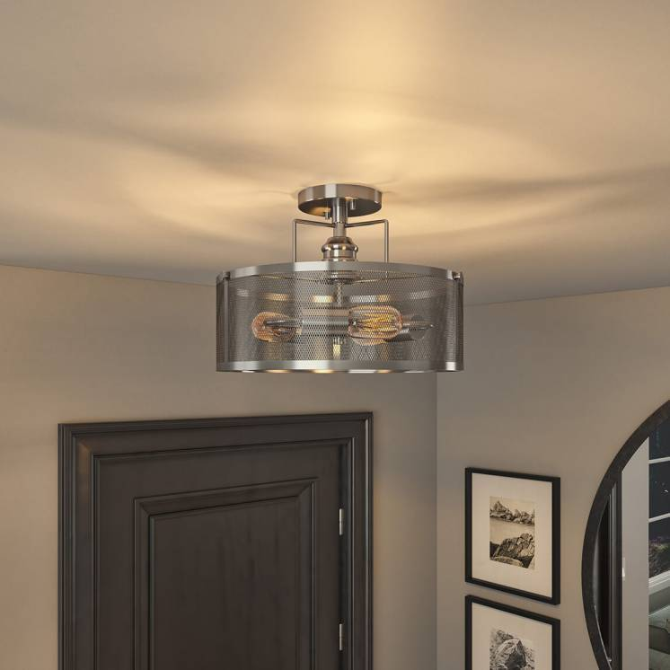 Prelude Semi-Flush Mount Ceiling Light