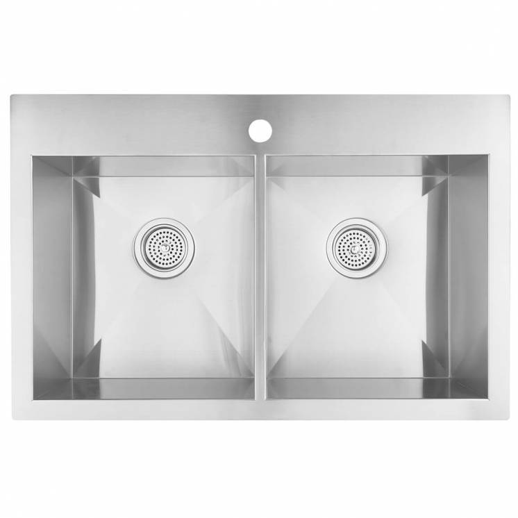 Odyssey Double Bowl Stainless Steel Sink