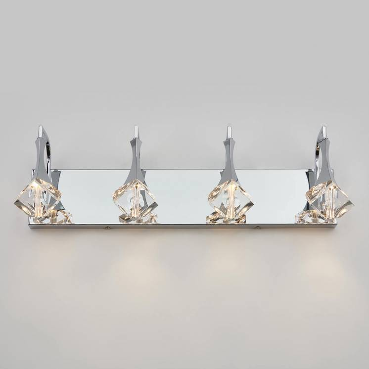 Spontaneous 4-light Integrated LED Vanity Light