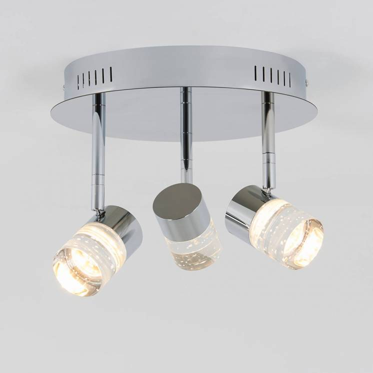 Essence Flare 3-light Integrated LED Semi-Flush Mount