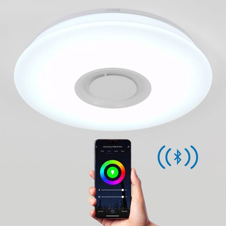 Galaxy LED Ceiling Light with Bluetooth Speaker