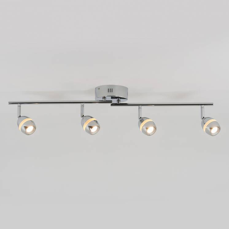 Omni Pivot 4-Light Integrated LED Track Light