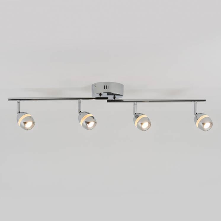 Omni Rail d'éclairage à 4 lumières DEL intégrées
