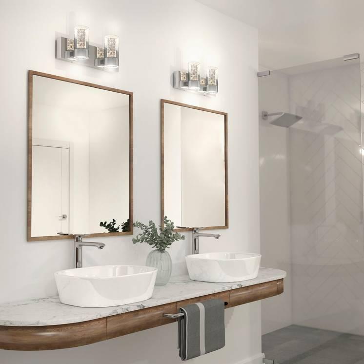 Ratio Applique meuble lavabo à 2 lumières
