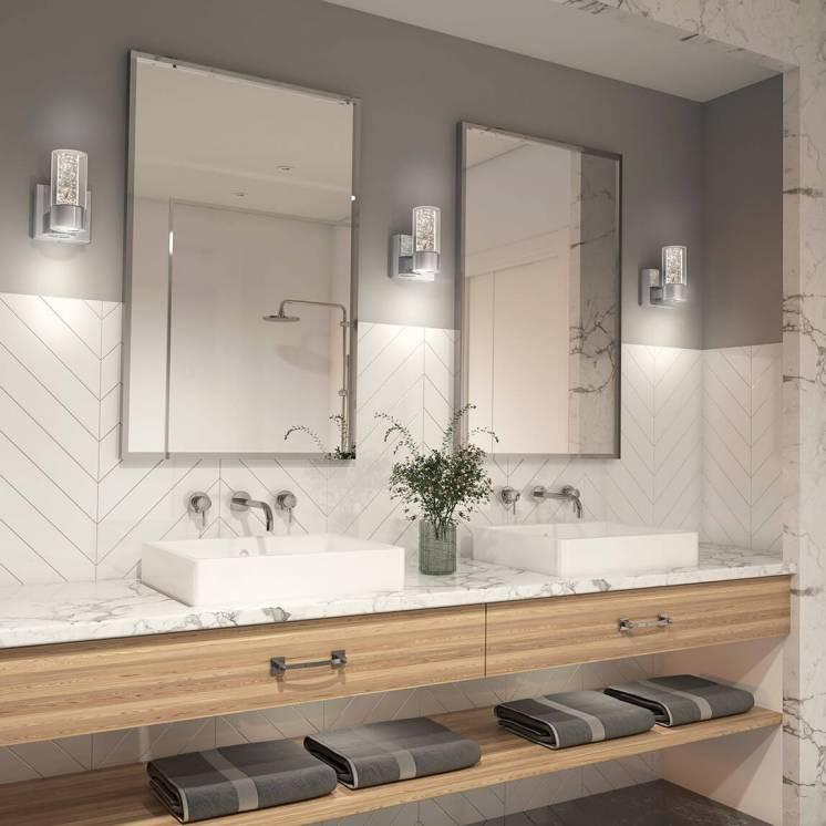 Ratio Applique meuble lavabo à 1 lumière