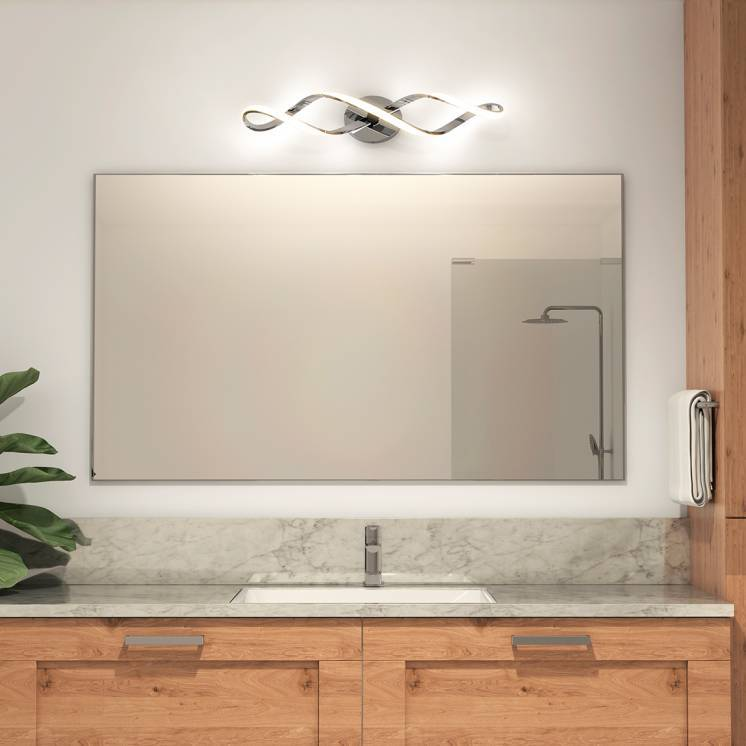 Swirl Integrated LED Vanity Light