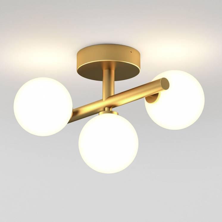 Bloom Integrated LED Flush Mount Gold