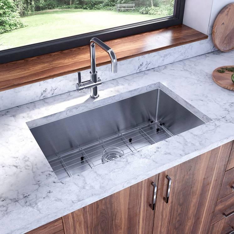 Chelsea 10 Stainless Steel Single Bowl Sink