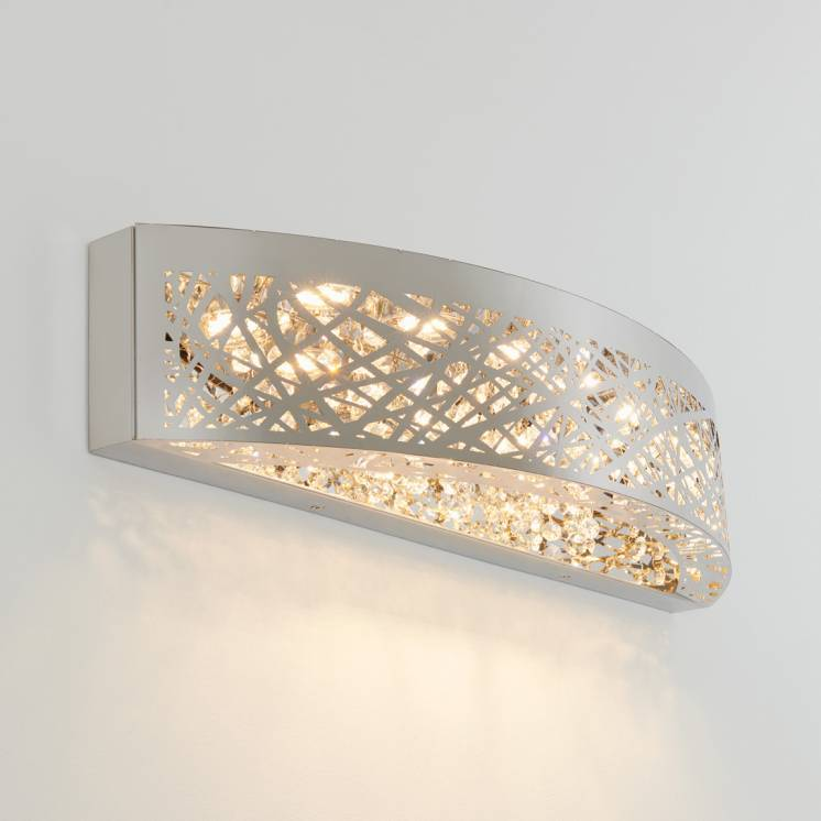 Crystal Nest Integrated LED Vanity Light