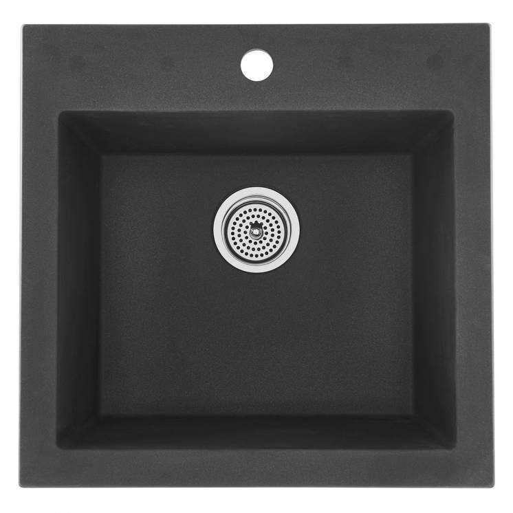 Odyssey Évier à Cuve Simple en Granit Gris