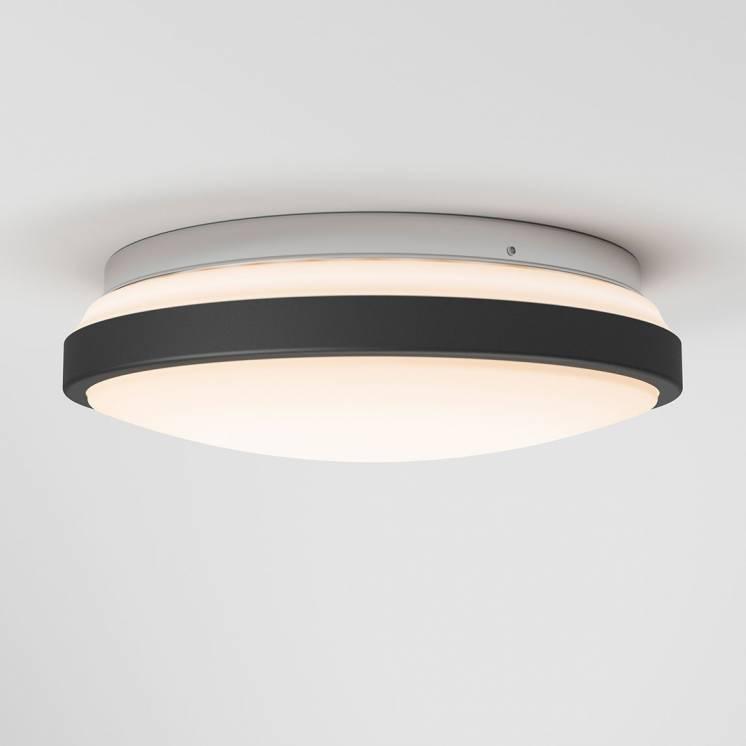 Orion Integrated LED Flush Mount Matte Black