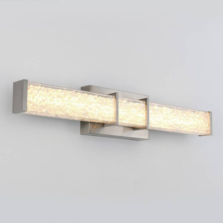 Riviera Brushed Nickel Integrated LED Vanity Light