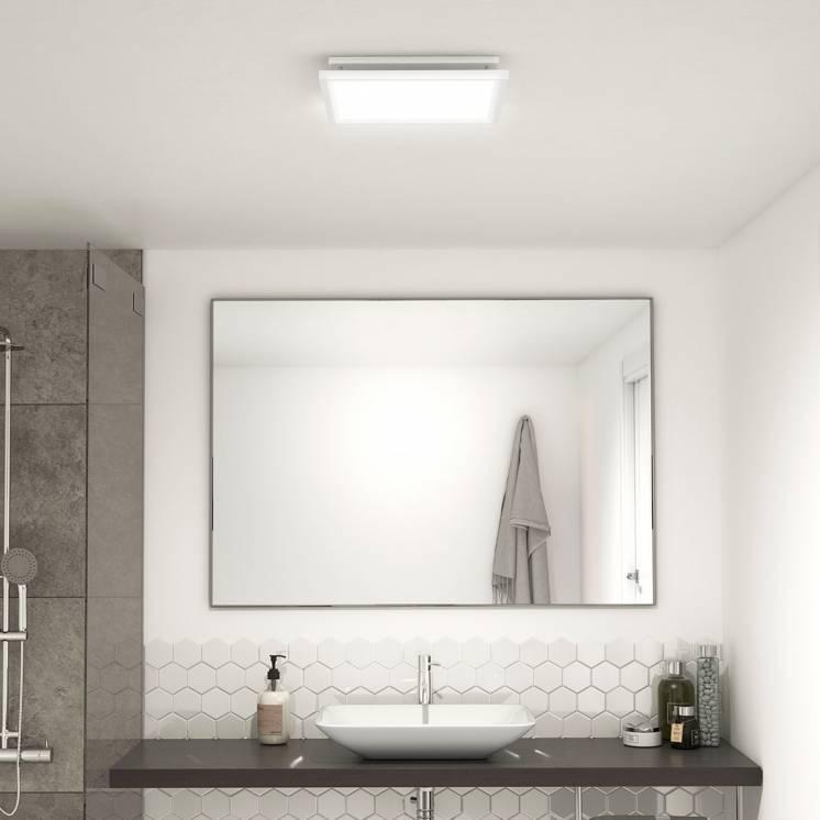 Skylight Breeze Integrated LED Bathroom Fan