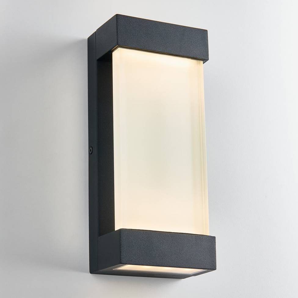 GLACIER INTEGRATED LED WALL LIGHT